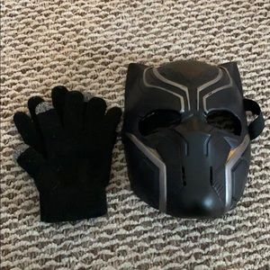 Blank Panther Mask